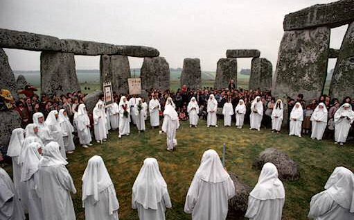 Image result for stonehenge and druids