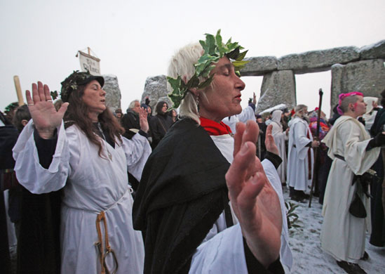 Winter Solstice Attracts More Than Just Druids To