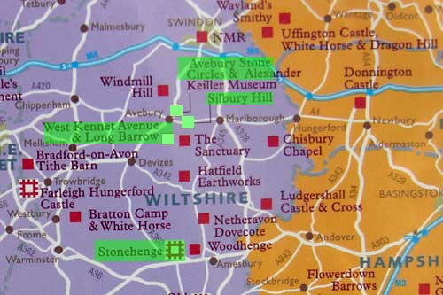 Stonehenge Uk Map.New Avebury To Stonehenge Walk Could Rival Hadrian S Wall