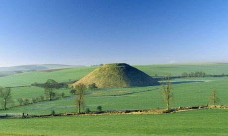 Tomb or temple? ... Silbury Hill, Wiltshire.