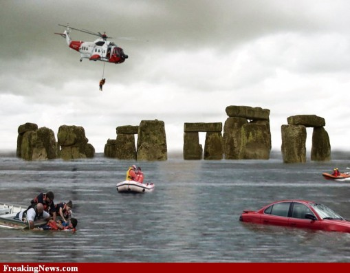 Stonehenge underwater
