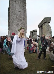 Stonehenge Winter Solstice celebrations