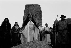 Druids - Stonehenge spring equinix