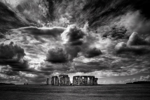 Storm looming over Stonehenge