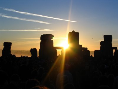 Sunrise at Stonehenge - June 21st
