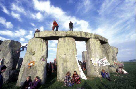 1995 Stonehenge Summer Solstice
