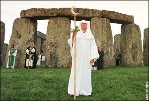 Stonehenge Druid