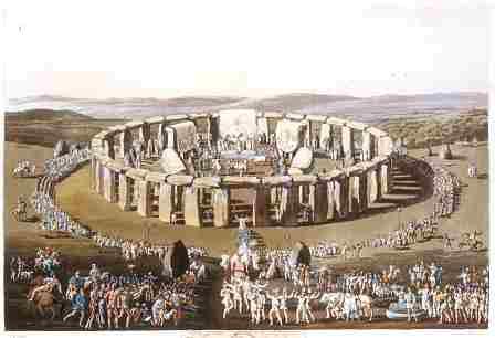 Stonehenge solstice druids