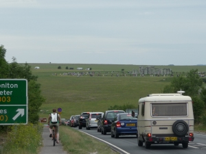 A303 Stonehenge traffic