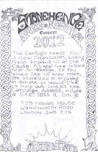 Stonehenge Free Festival Campaign