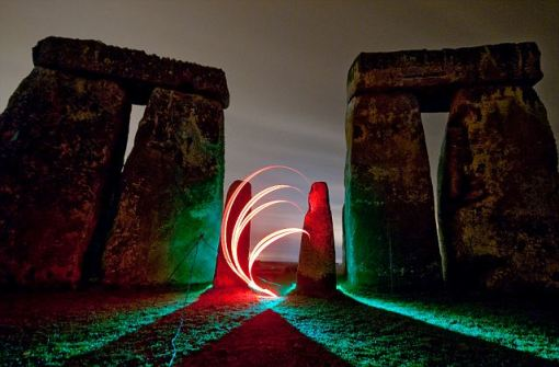 Light fantastic: Stonehenge as it has never been seen before