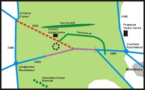 Stonehenge tunnel plan