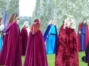 Stonehenge maidens - Imbolc