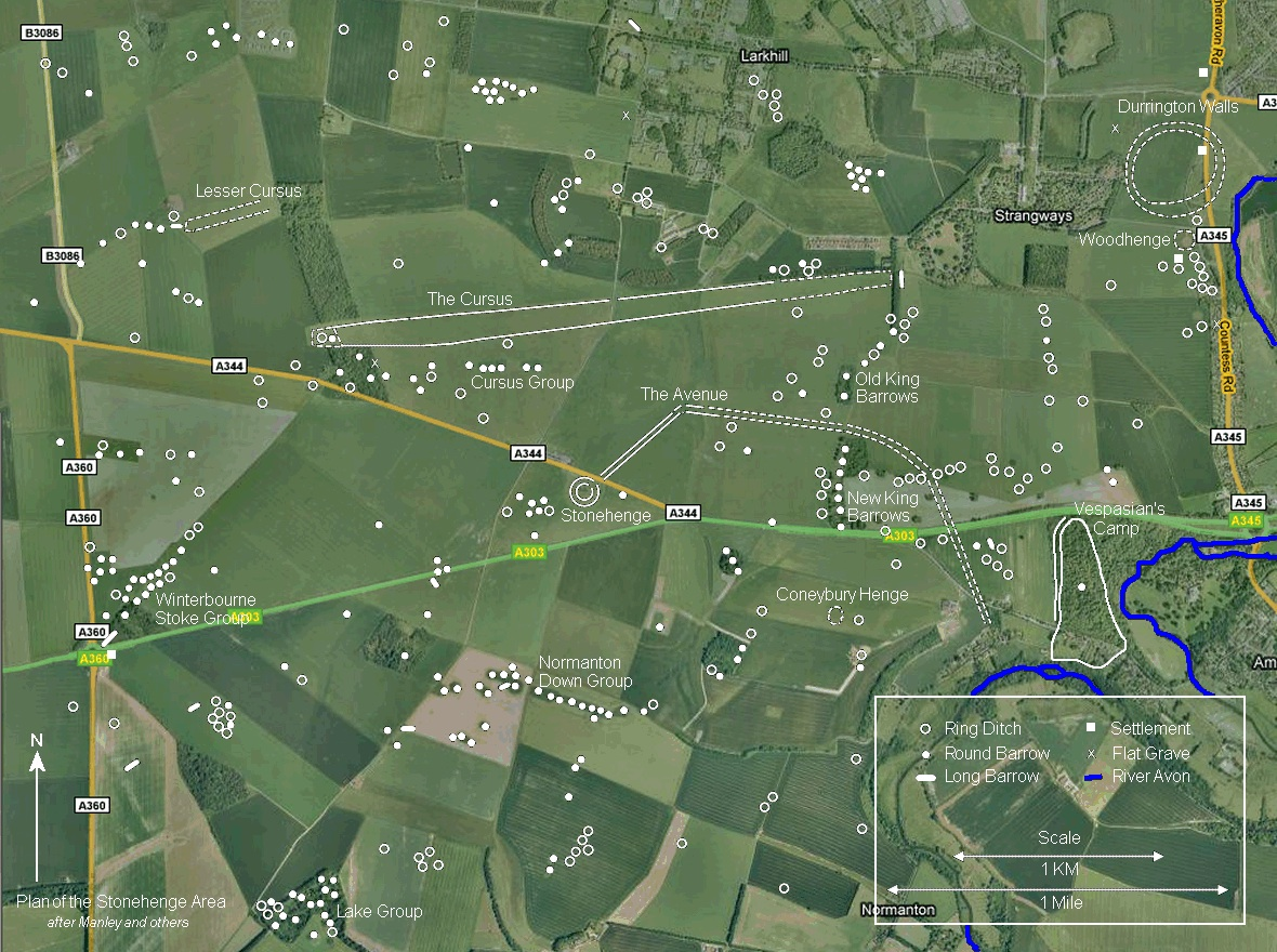 stonehenge map stonehenge news and information