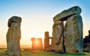Stonehenge - clues in the earth.