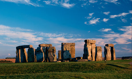 Stonehenge: a digital laser scan has revealed tool marks from 4,500 years ago, and graffiti made by Victorian visitors. Photograph: Yoshihiro Takada/Corbis