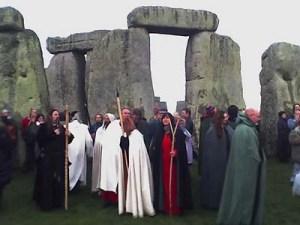 Stonehenge Equinox Druids
