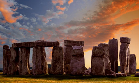 Stonehenge, the prehistoric site whose purpose is still not fully understood by archaeologists. Photograph: Steve Allen/Getty Images