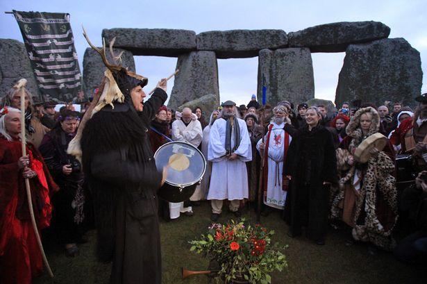 Pagans   Stonehenge Stone Circle News and Information