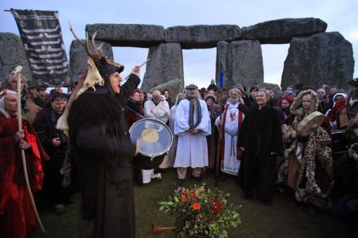 Druids and Pagans @atStonehenge