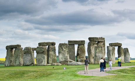 The Unesco world heritage site of Stonehenge was erected more than 4,000 years ago and is open to the public Photograph: Frank Lukasseck