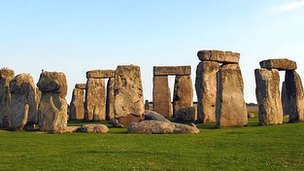 English Heritage plans to display the remains at the new Stonehenge visitor centre