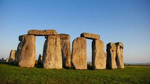 Archaeologists believe the original Stonehenge was built anywhere from 3000 BC to 2000 BC