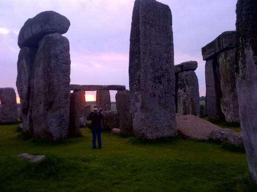 Stonehenge inner circle tour