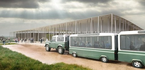 Easy access: The centre will be 1.5 miles from Stonehenge and visitors will be transported between the sites on a shuttle service