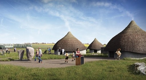 Stepping back into the past: Construction of a group of Neolithic houses will begin in January next year
