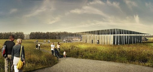 Exploring the past: The impressive new visitor centre will open on 18 December