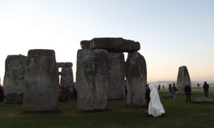 Druid at Stonehenge.