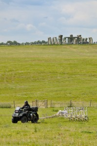 An ambitious programme of geophysical survey, covering 12 square kilometres around Stonehenge, has revealed a landscape scattered with previously-unknown features. Credit: All images courtesy of the University of Birmingham and LBI ArchPro