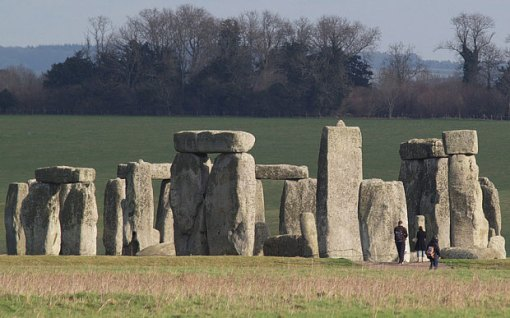 David Cameron announced plans to route the A303 into a tunnel to take traffic away from the world heritage site of Stonehenge Photo: AP