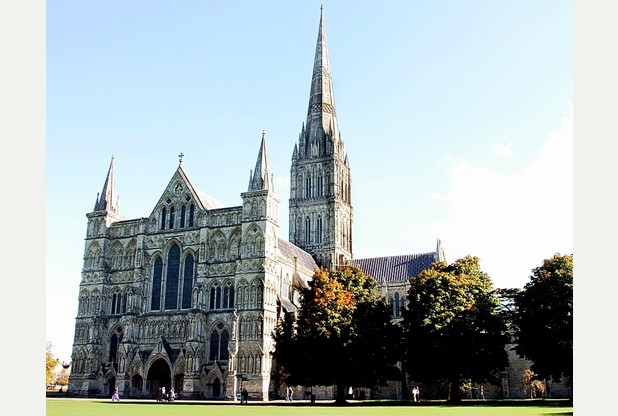 Visit Salisbury Cathedral, is unique among English medieval cathedrals having been built in a single architectural style - early English gothic.