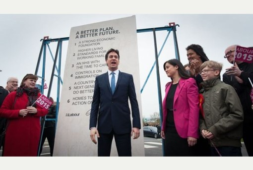 miliband and his megalith