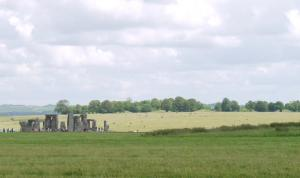 Stonehenge and King Barrow Ridge. Copyright Beth Thomas
