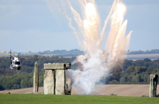 Stonehenge was turned into an intergalactic war field