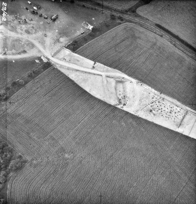 Durrington Excavation Aerial