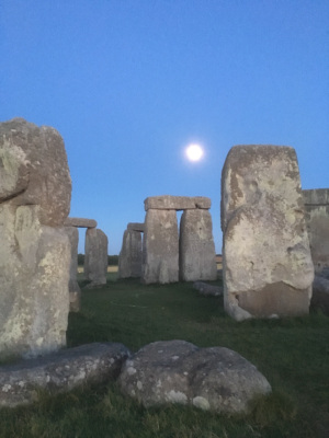 Full Moon Stonehenge