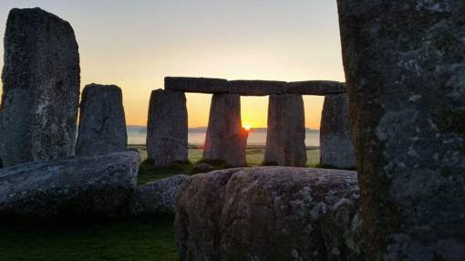Stonehenge (pictured) is made of natural pillars from Pembrokeshire, 180 miles (290 km) away from its current location in Wiltshire. Experts claim the obelisks were dragged there over land and not taken there by sea, as some theories have suggested