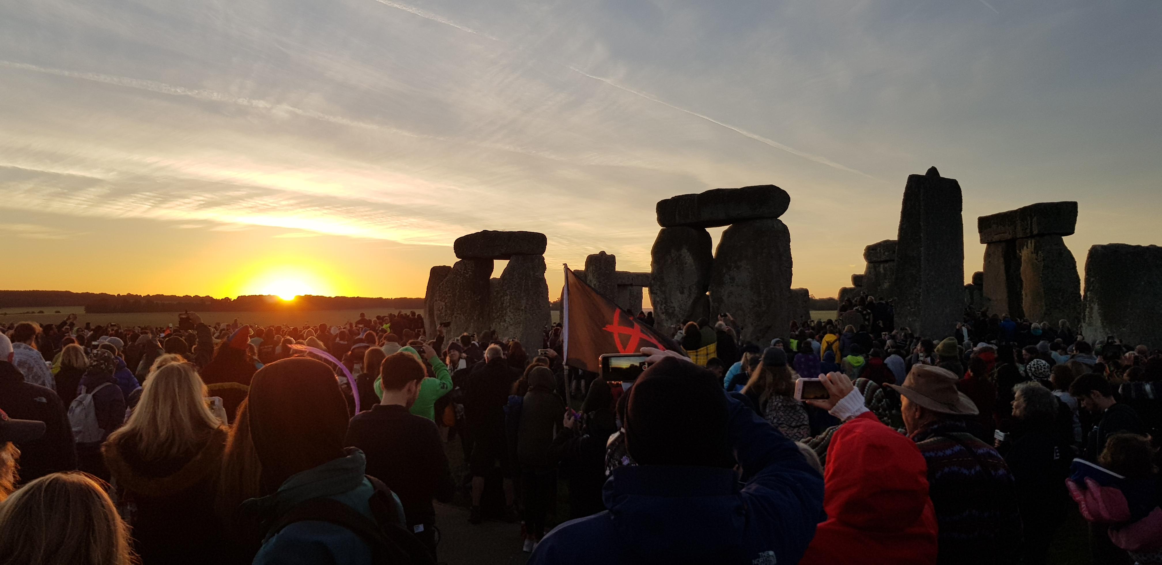 Summer Solstice Sunrise Celebrations at Stonehenge
