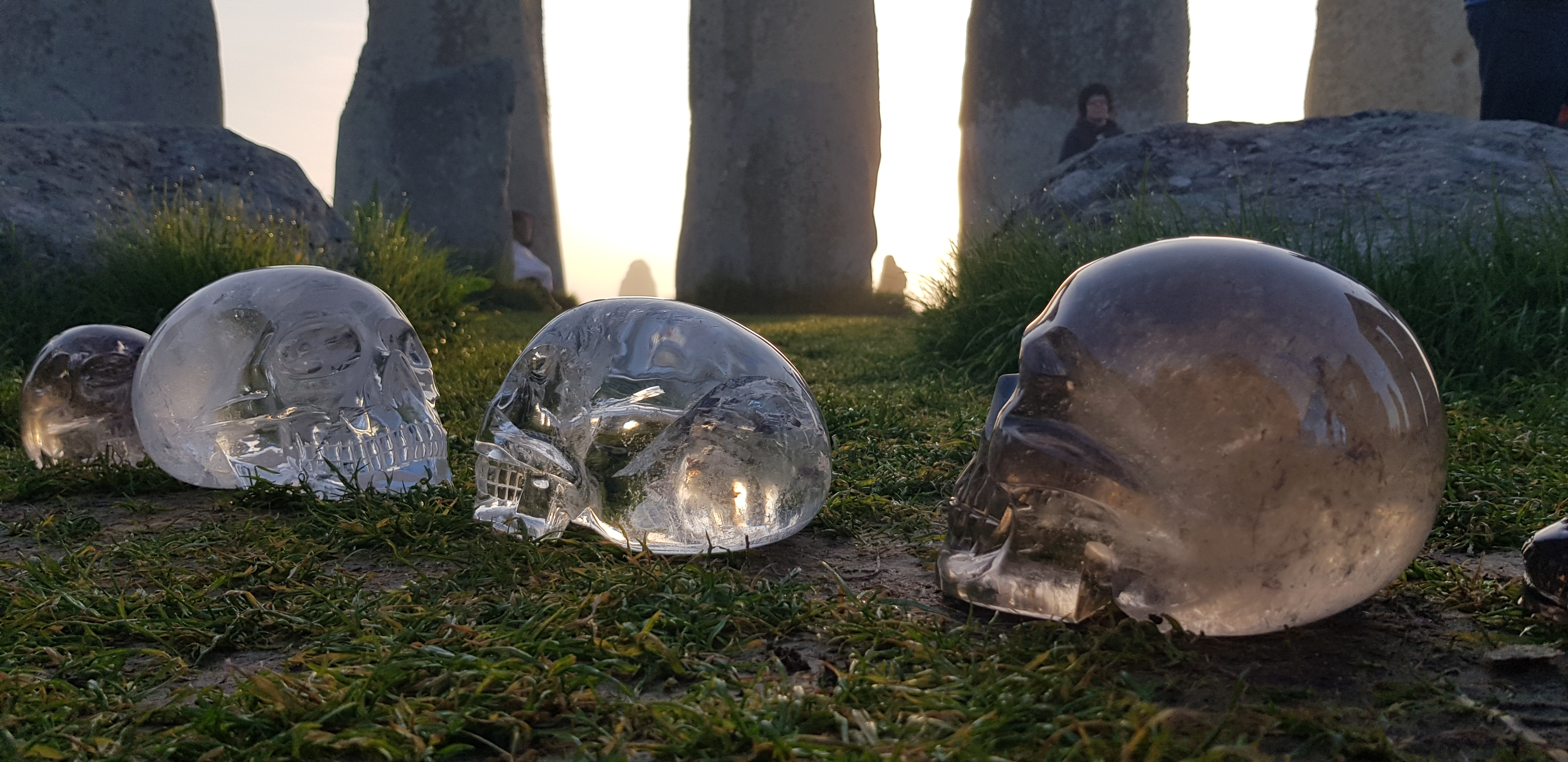 Stonehenge crystal skull gathering