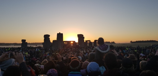 Stonehenge summer solstice celebrations