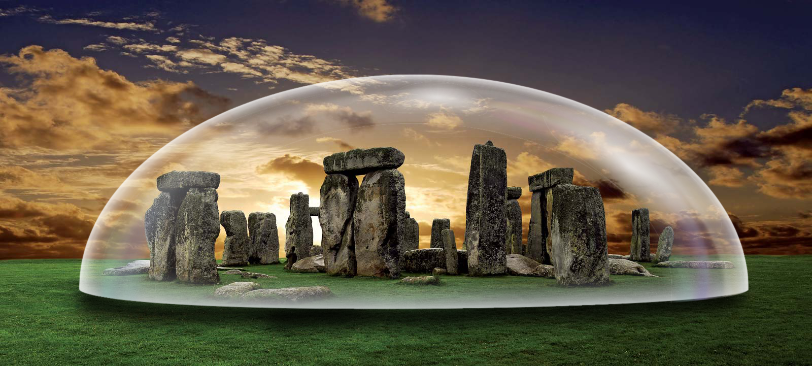 STONEHENGE GLASS DOME