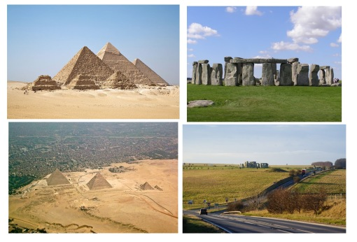 Stonehenge and the Pyrimids